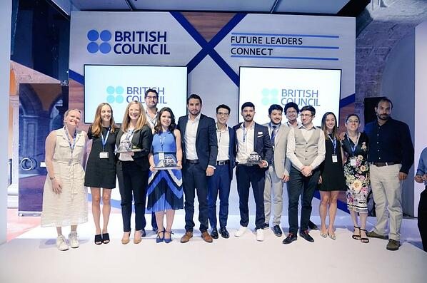Participantes de Future Leaders Connect del British Council México